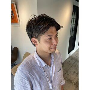 30代ヘアスタイル メンズ髪型 神保町